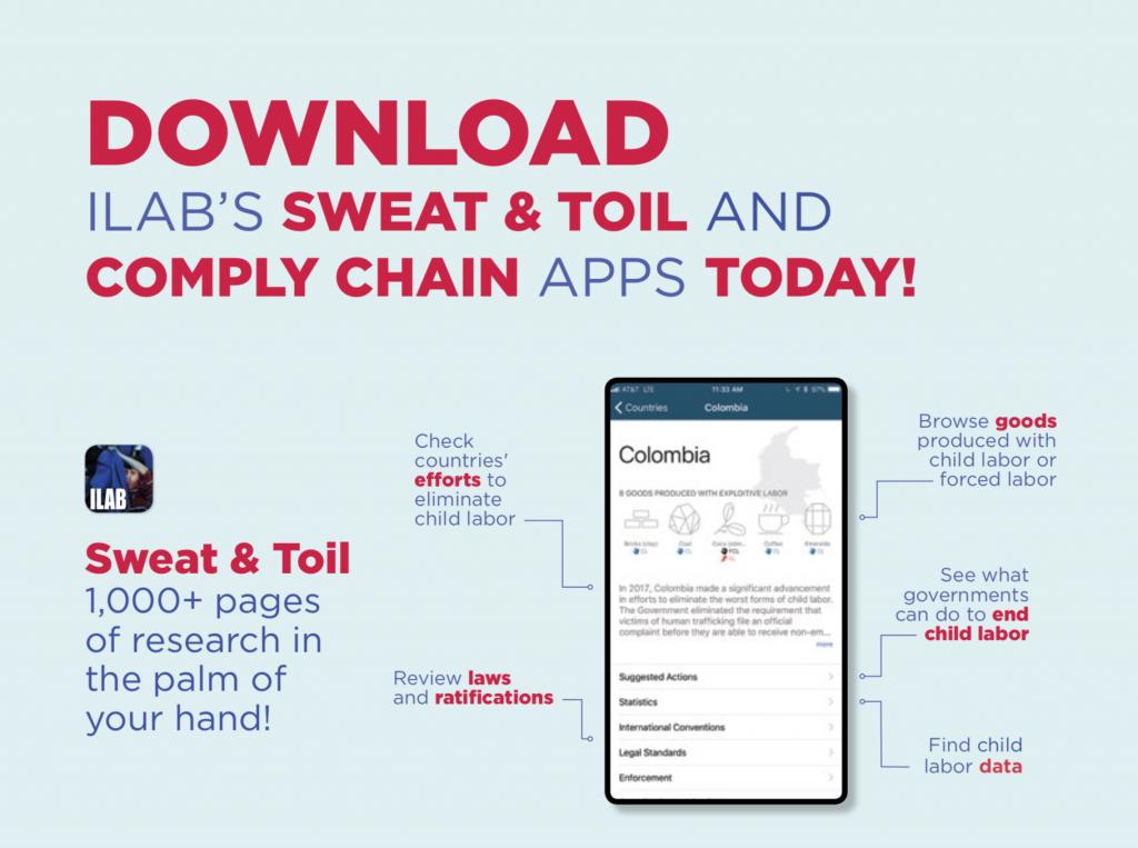 Child Labor App: Sweat & Toil